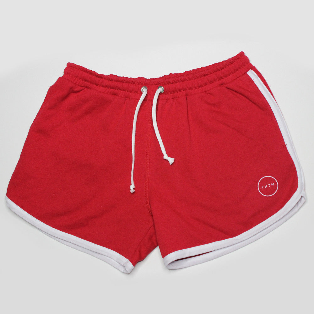 Red Custom Made BOOM Shorts (back in stock)