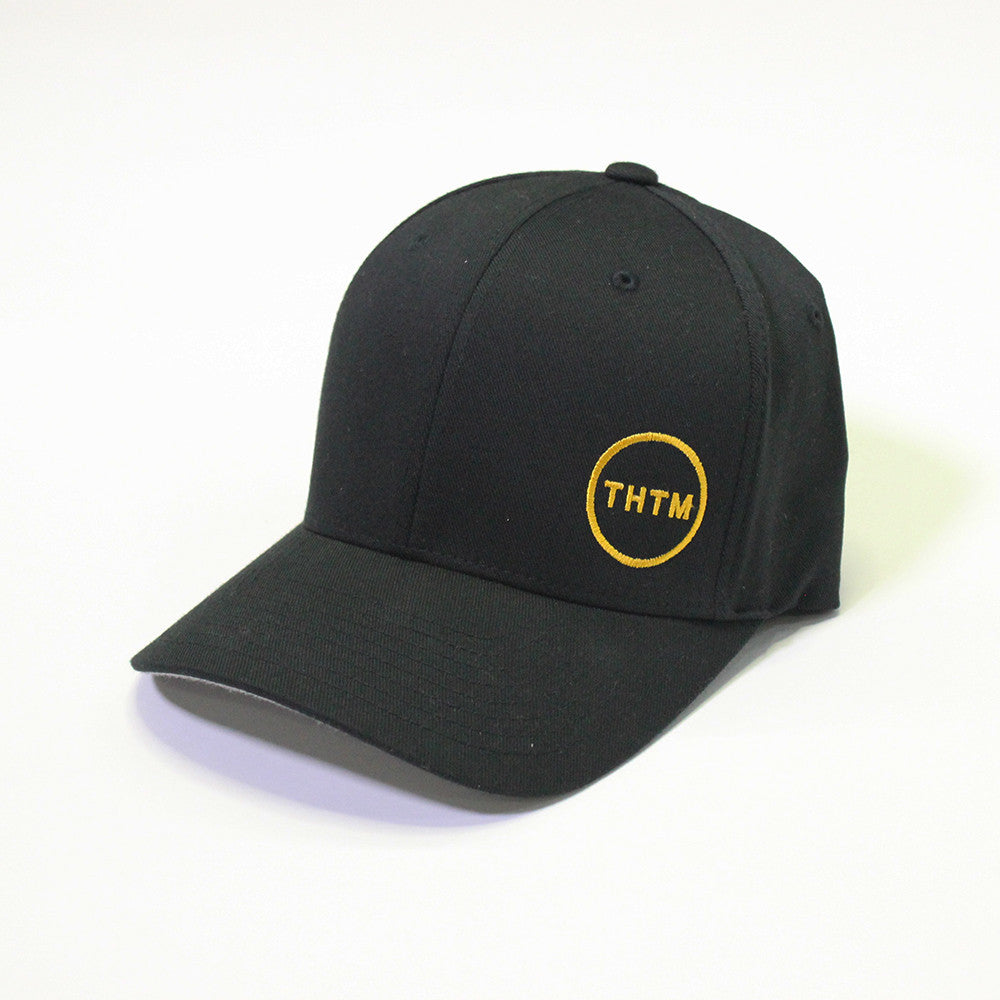 THTM Black Icon Flex Fit Hat