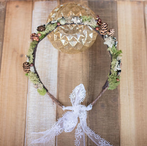 Forest Floor Circle Flower Crown