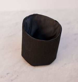 Natural Onyx Cork Handmade Fabric Pot Cover