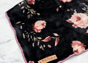 Rose Velvet Dog Bandana