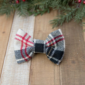 Mad for Plaid - Winter Handmade Dog Bows Ties