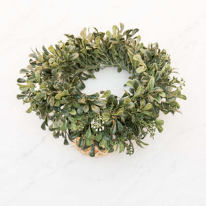 Leafy Green Full Circle Flower Crown