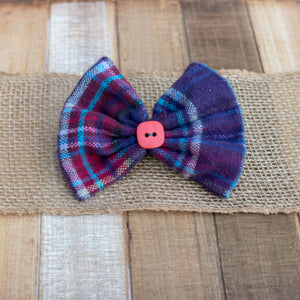 Crater Lake Dog Bow Tie