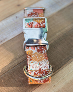 Vintage Harvest Handmade Dog Collar