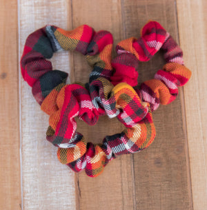 Radley Plaid Scrunchie Hair Tie
