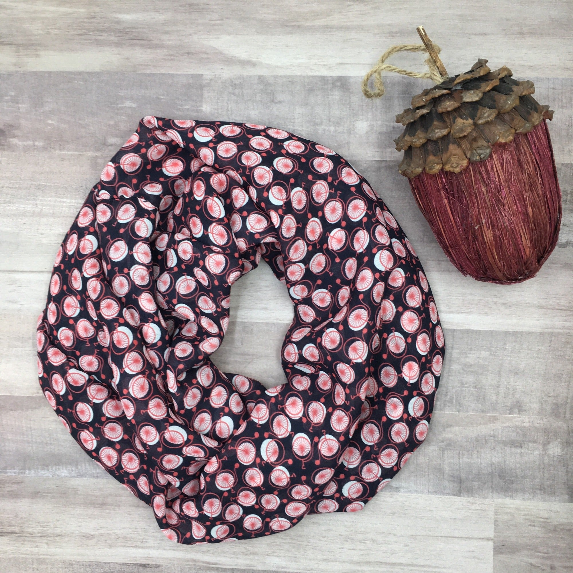 Cycle in Style Handmade Infinity Scarf