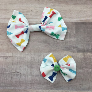 Bows on Bows Dog Bow Tie