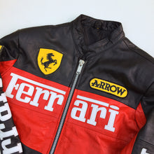 Ferrari woman's leather racing jacket (S/M)