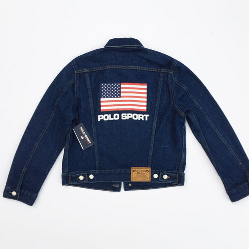 Polo Sport Woman's Denim Jacket - (M)