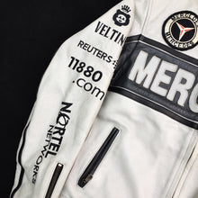 Mercedes leather racing jacket (S/M)