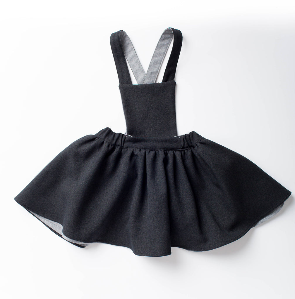 PINAFORE DRESS -  REVERSIBLE