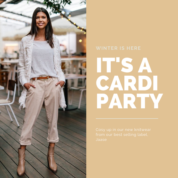 You're invited to the Cardi Party