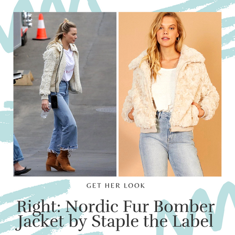 Get margot Robbie's look at Coltish