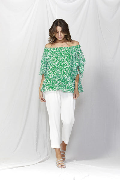 La Spezia Ruffled Blouse