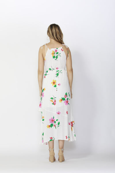 Hibiscus Layered Maxi Dress