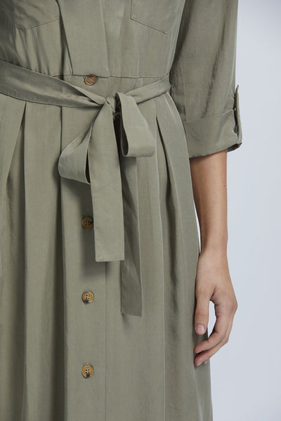 Cedar Midi Shirtdress