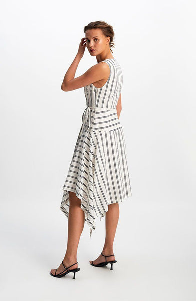 Avenue Wrap Midi Dress