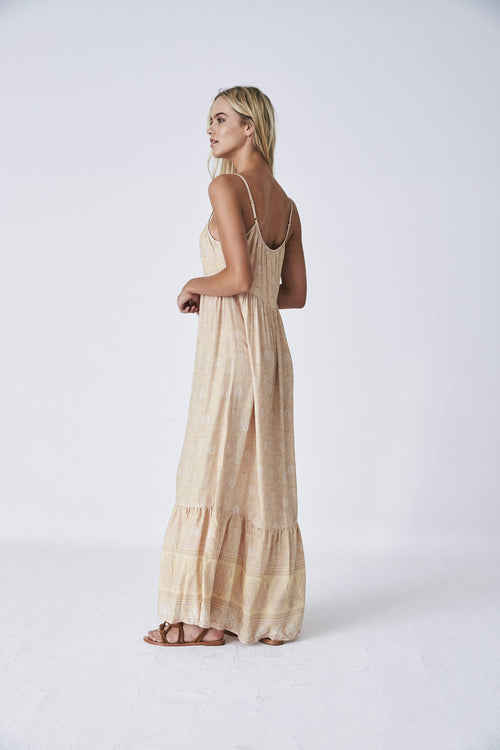 Kashmir Maxi Dress - Sunshine