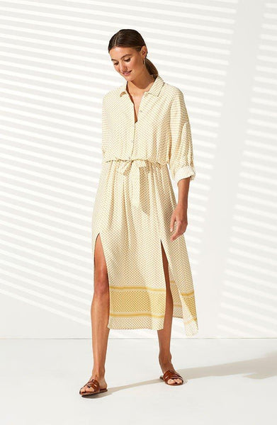 Tangier Maxi Shirtdress