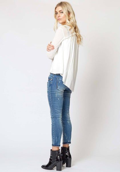 Fable Top in White