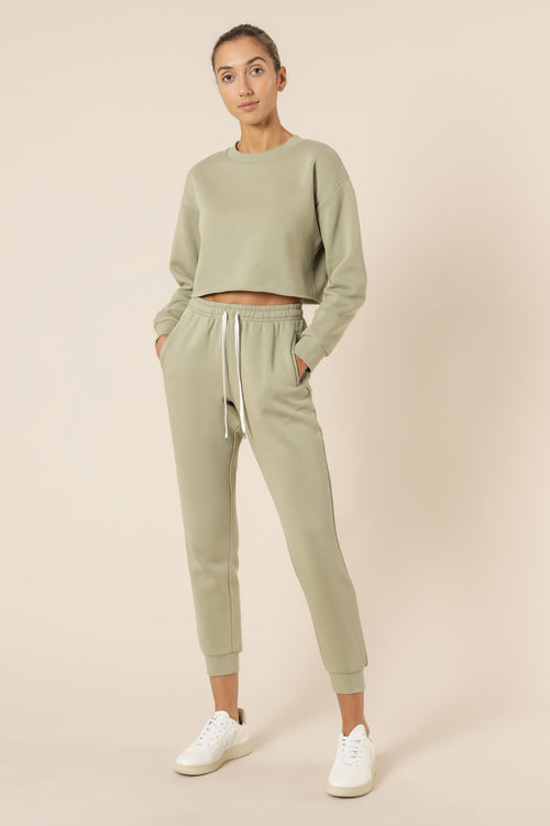 Carter Classic Trackpant - Washed Sage