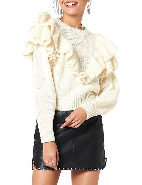 Shelby Ruffle Knit