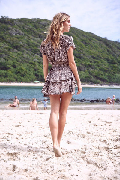 Chaser Print Mini Dress