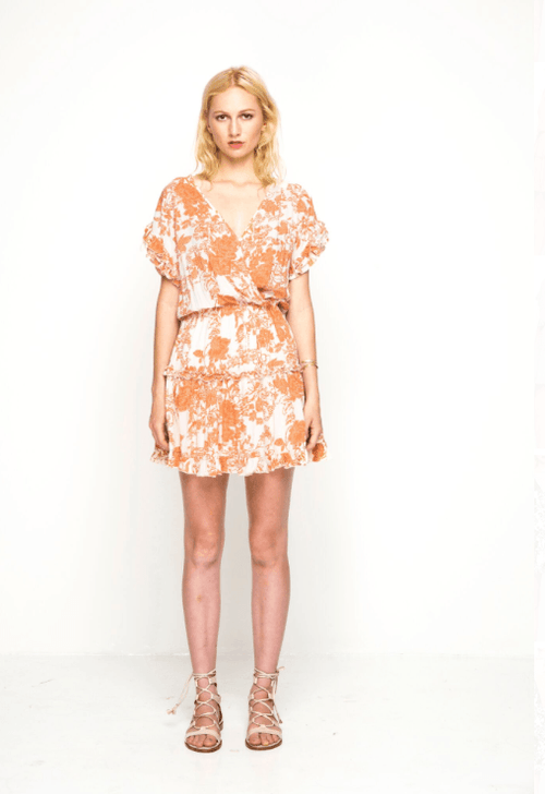 New Flame Dress / Desert Bloom Rust