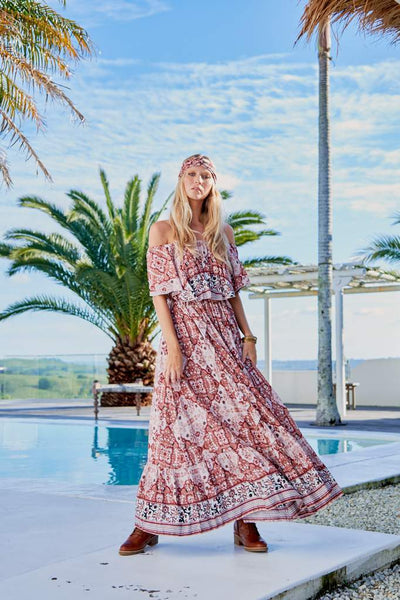 Georgie Maxi Dress - Nodini