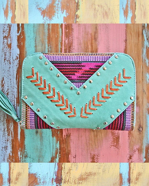 Ava Wallet / Turquoise