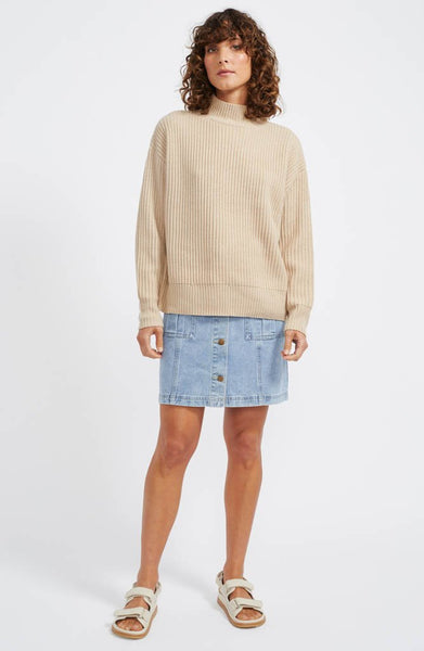 Oracle Rib Knit Jumper