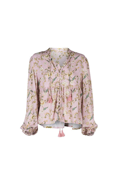 Sunset Blouse - Blush