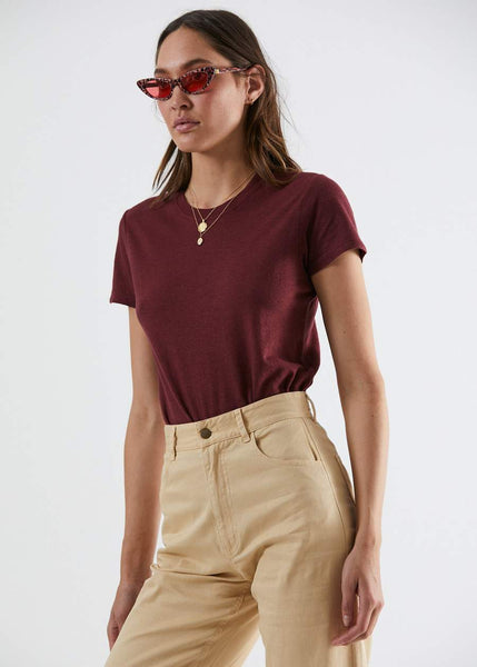 Hemp Basics Standard Fit Tee - Port