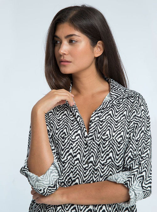 Belle Blouse - Arrow