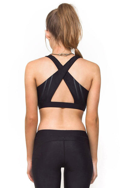 Contour Crop Top / Black