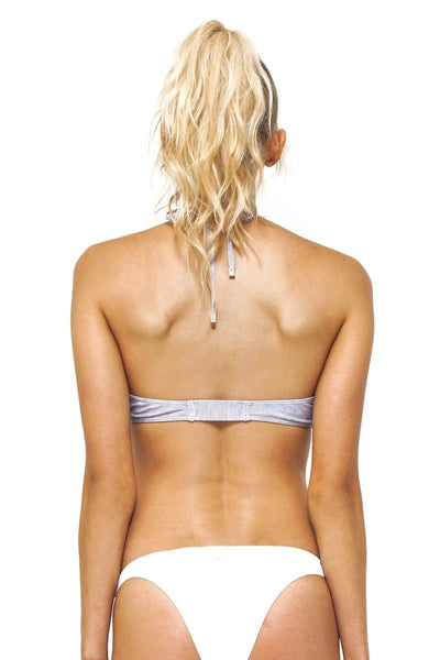 Tamarama Moulded Swim Top / Grey Marle