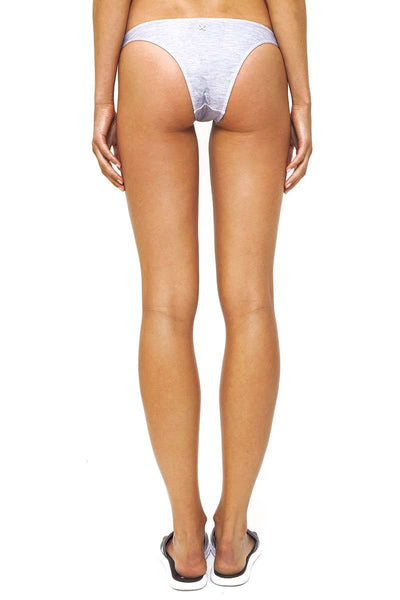 Tamarama High Cut Swim Bottom / Grey Marle