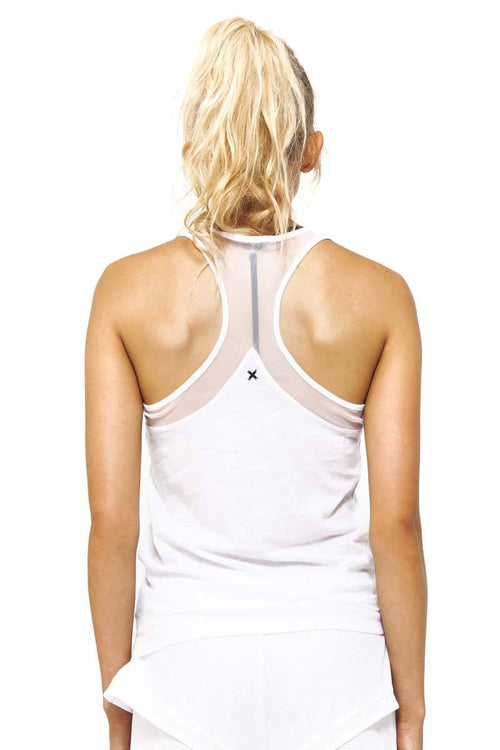 Work It Out Tank / White