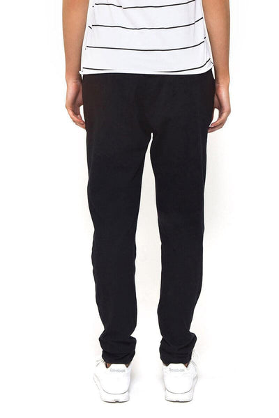Game Day Panelled Trackie / Black