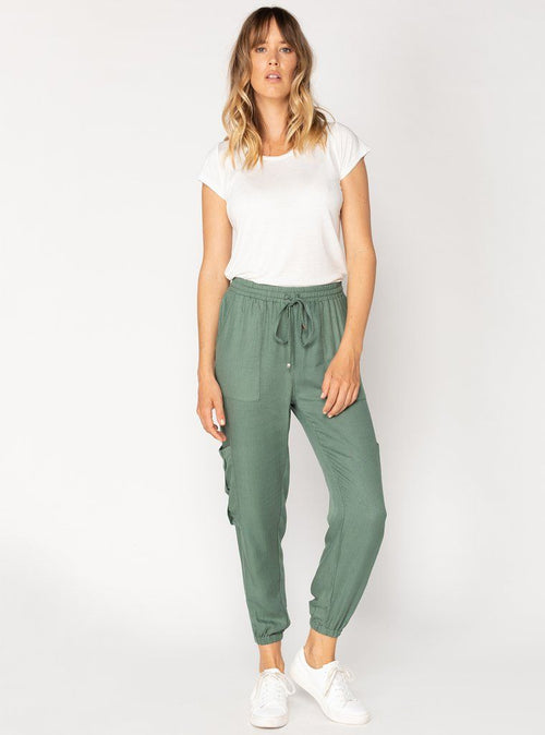 Iva Long Pants - Forest