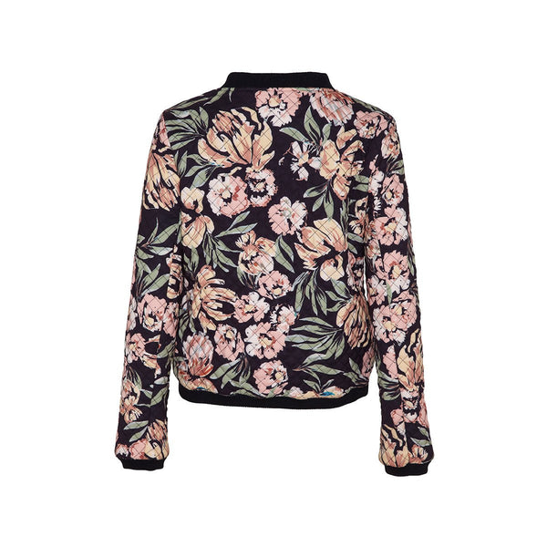 Giselle Bomber in Painterly Floral