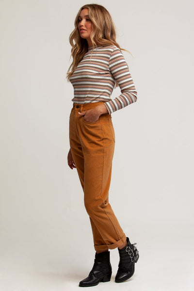 Jojo Long Sleeve Rib Top