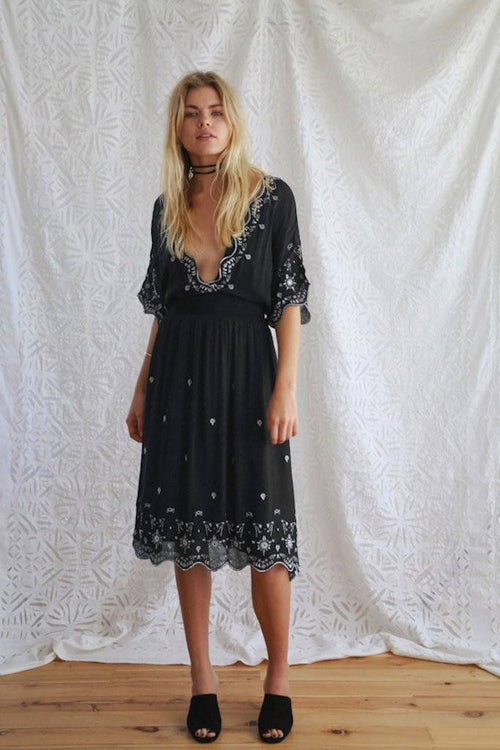 The Diviner Embroidered Dress