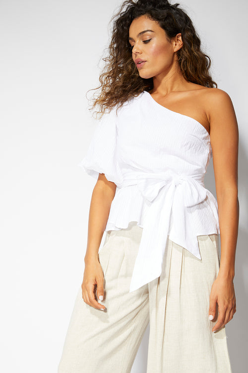 Carrie One Shoulder Top