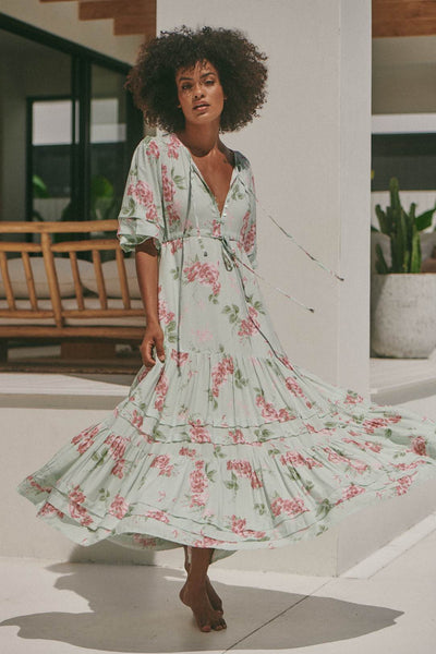Mariana Maxi Dress - Mintie