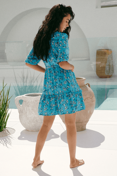 Anika Mini Dress - Ocean Eyes