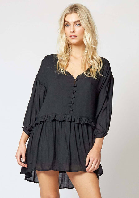 Ember Off Shoulder Dress