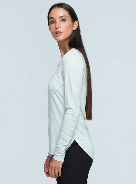 Rika Long Sleeve Top - Mud