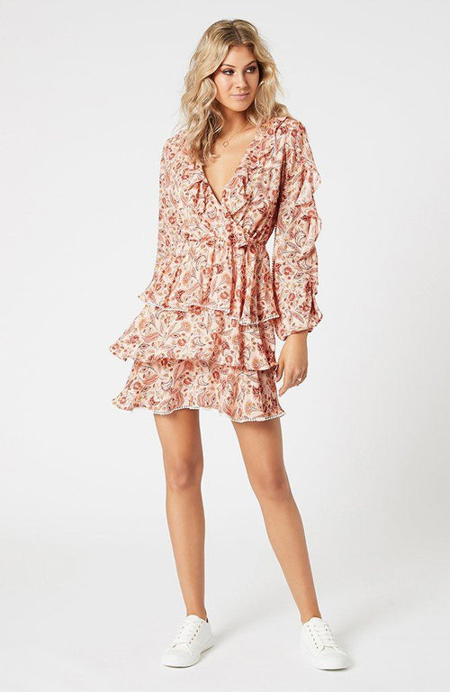 Terracotta Dweller Mini Dress